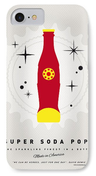 My Super Soda Pops No-09 IPhone Case by Chungkong Art