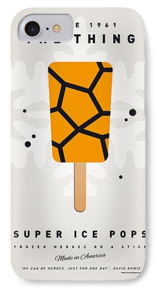 My Superhero Ice Pop - The Thing Phone Case by Chungkong Art