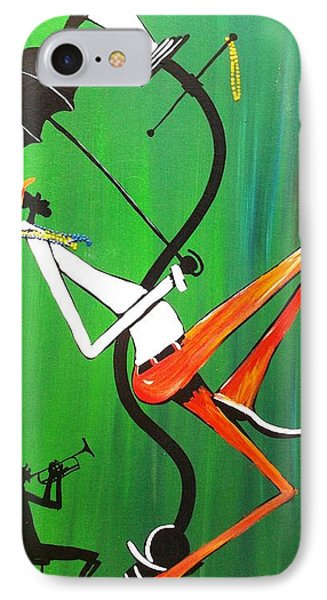 My Trumpet Shadow Phone Case by Guilbeaux Gallery
