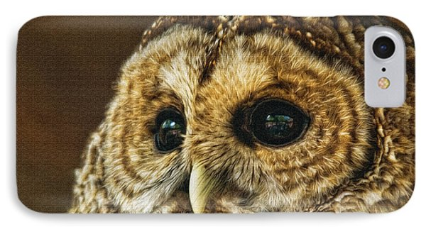 My What Big Eyes You Have Phone Case by Lois Bryan