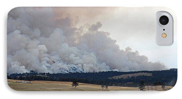 IPhone Case featuring the photograph Myrtle Fire West Of Wind Cave National Park by Bill Gabbert