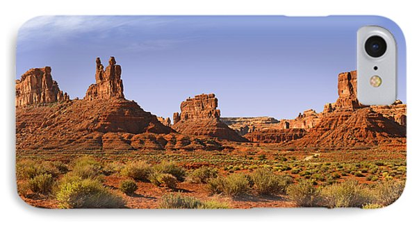 Mysterious Valley Of The Gods Phone Case by Christine Till
