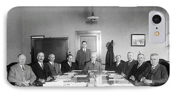 Naca Aeronautics Committee IPhone Case by Library Of Congress