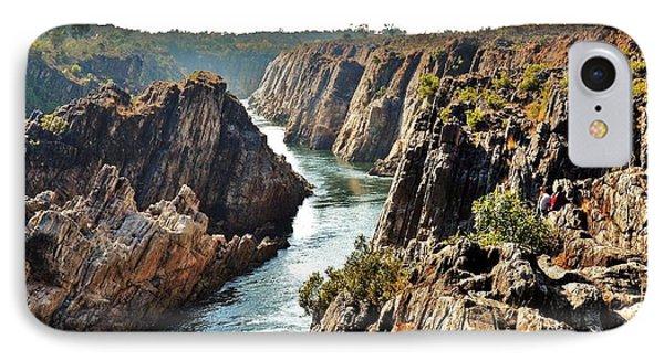 Narmada River Gorge At Jabalpur India Phone Case by Kim Bemis