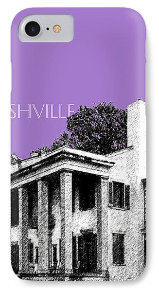 Nashville Skyline Belle Meade Plantation - Violet IPhone 7 Case by DB Artist