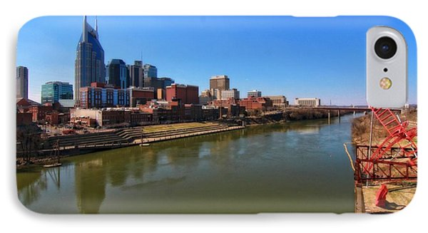 Nashville Skyline  Phone Case by Dan Sproul