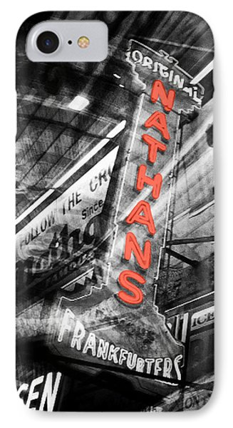 Nathan's Famous Phone Case by Natasha Marco