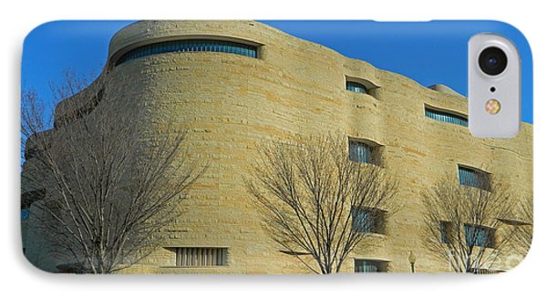 National Museum Of The American Indian IPhone 7 Case by Emmy Marie Vickers