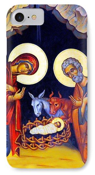 Nativity Feast IPhone Case by Munir Alawi