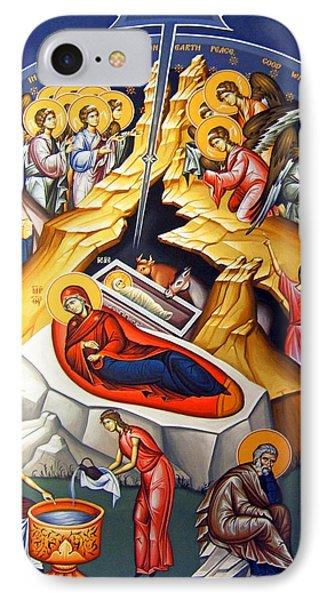 Nativity Story IPhone Case by Munir Alawi