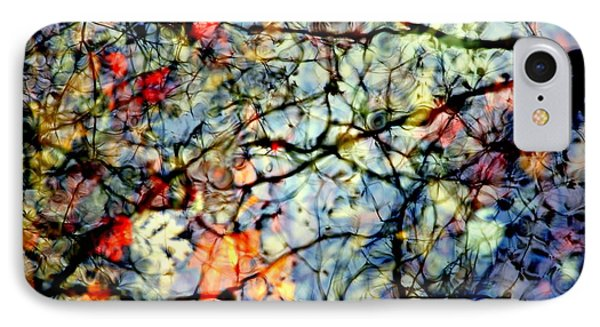 Natures Stained Glass Phone Case by Karen Wiles