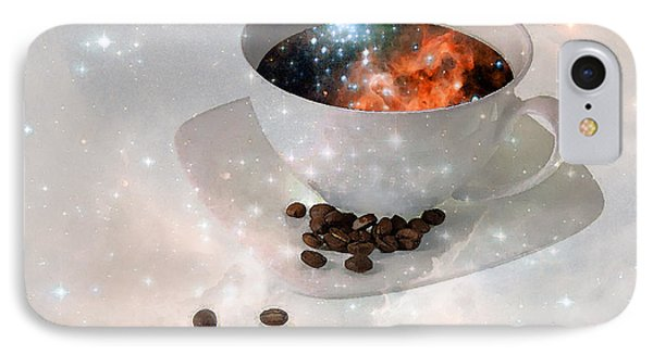 Nectar From Heaven - Coffee Art By Sharon Cummings IPhone Case by Sharon Cummings
