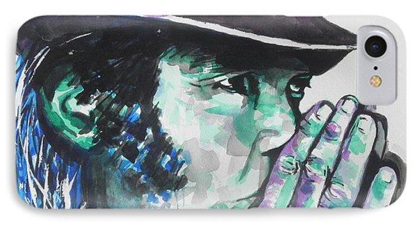 Neil Young IPhone 7 Case by Chrisann Ellis