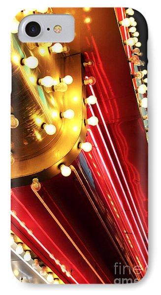 Neon Vegas Phone Case by John Rizzuto