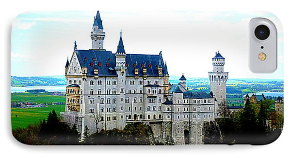 Neuschwanstein Castle  Phone Case by The Creative Minds Art and Photography