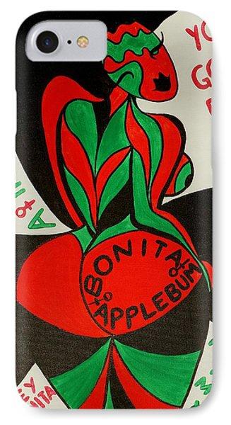 Never A Flaw Bonita Applebum IPhone Case by Aliya Michelle