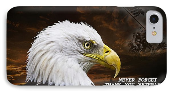 Never Forget - Memorial Day Phone Case by Cris Hayes