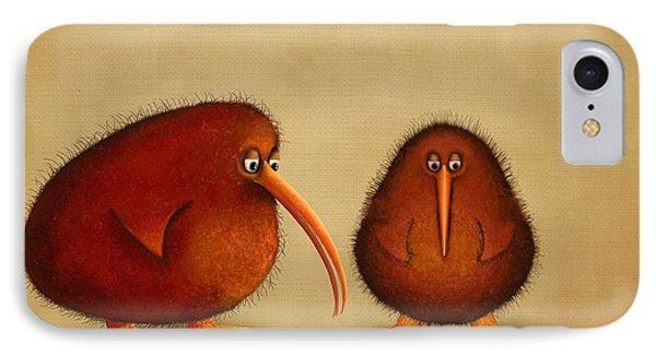 New Arrival. Kiwi Bird - Sweet As - Boy IPhone 7 Case by Marlene Watson