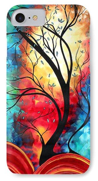 New Beginnings Original Art By Madart Phone Case by Megan Duncanson