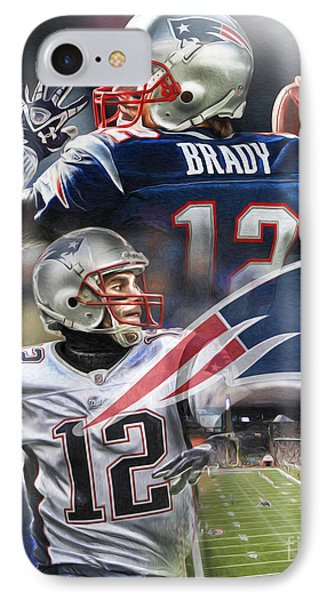 New England Patriots Phone Case by Mike Oulton
