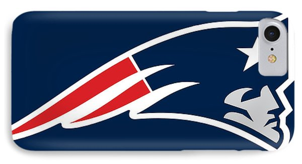 New England Patriots Phone Case by Tony Rubino