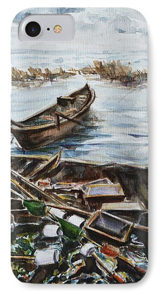 New England Wharf Phone Case by Xueling Zou