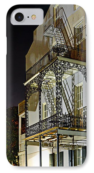 New Orleans Hot Summer Night IPhone Case by Christine Till