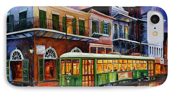 New Orleans Old Desire Streetcar IPhone Case by Diane Millsap