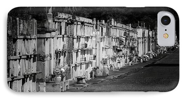 New Orleans St Louis Cemetery No 3 Phone Case by Christine Till