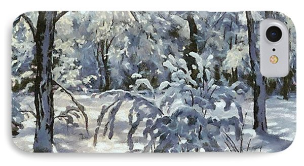 New Snow IPhone Case by Dragica  Micki Fortuna