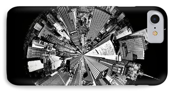 New York 2 Circagraph IPhone Case by Az Jackson