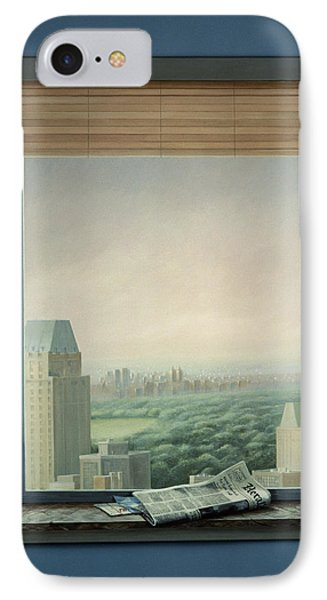 New York Central Park IPhone Case by Lincoln Seligman