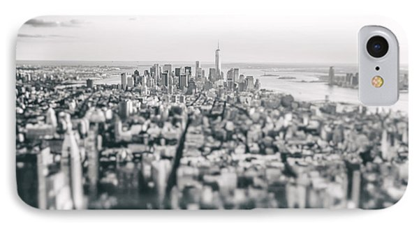 New York City - Above The Rooftops IPhone Case by Vivienne Gucwa