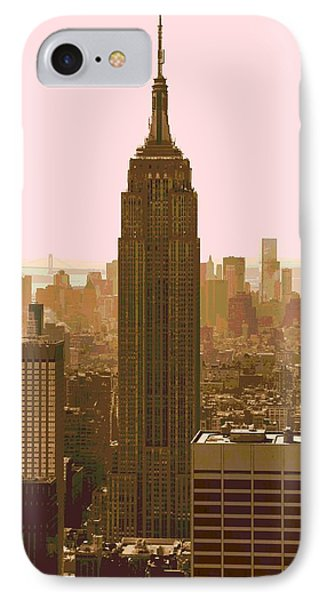 New York City Poster IPhone Case by Dan Sproul