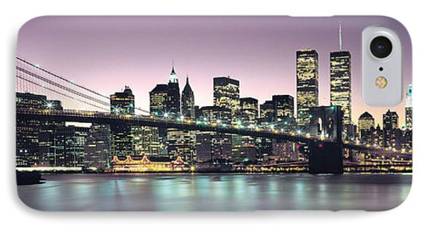 New York City Skyline IPhone 7 Case by Jon Neidert