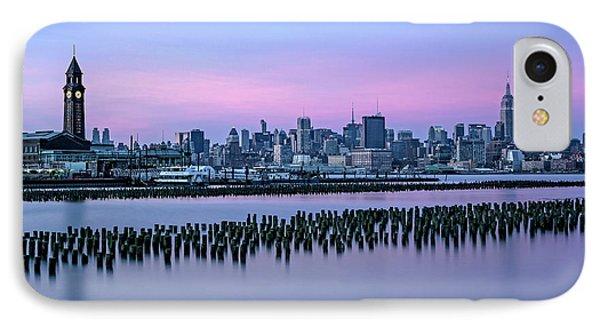 New York City Skyline Stillness IPhone Case by Susan Candelario