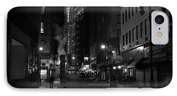 New York City Street - Night Phone Case by Vivienne Gucwa