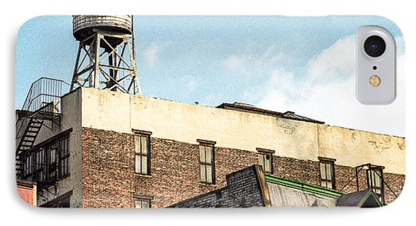 New York City Water Tower 2 Phone Case by Gary Heller
