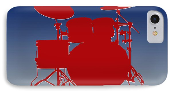 New York Giants Drum Set IPhone 7 Case by Joe Hamilton