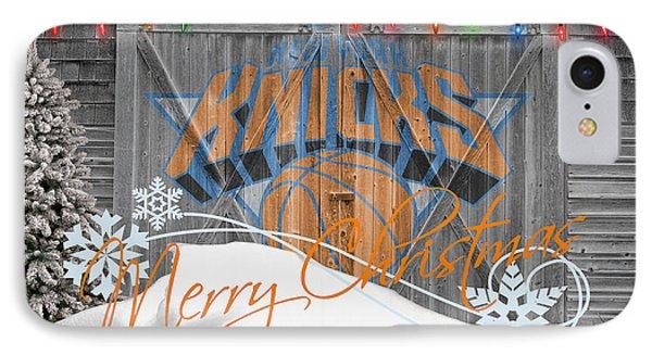 New York Knicks IPhone Case by Joe Hamilton
