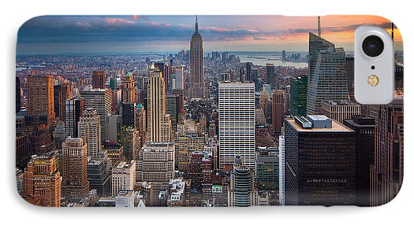 New York New York IPhone 7 Case by Inge Johnsson