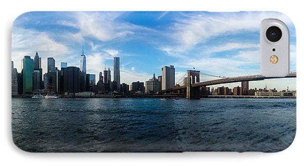 New York Skyline - Color IPhone 7 Case by Nicklas Gustafsson
