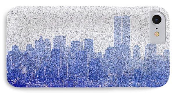 New York Skyline IPhone Case by Jon Neidert