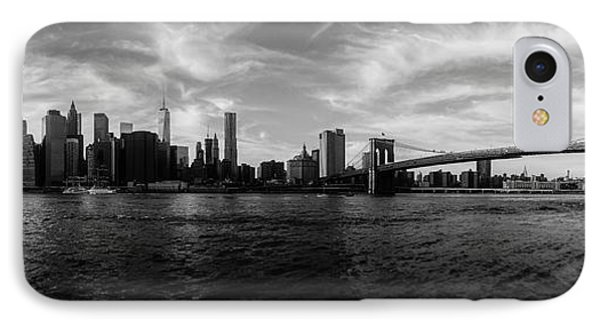 New York Skyline IPhone 7 Case by Nicklas Gustafsson