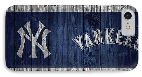 New York Yankees Barn Door IPhone Case by Dan Sproul