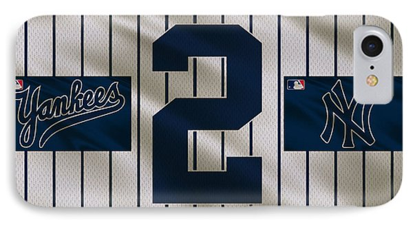 New York Yankees Derek Jeter IPhone 7 Case by Joe Hamilton