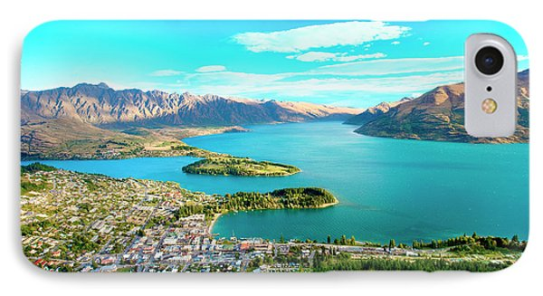 New Zealand, South Island, View Towards IPhone Case by Miva Stock