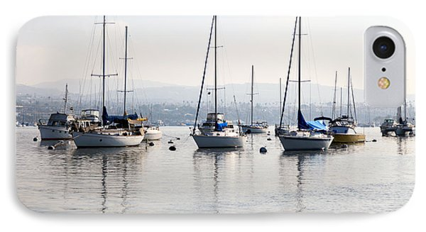 Newport Beach Bay Harbor California IPhone Case by Paul Velgos
