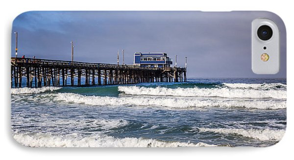 Newport Beach Pier In Orange County California IPhone Case by Paul Velgos