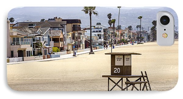 Newport Beach Waterfront Luxury Homes IPhone Case by Paul Velgos